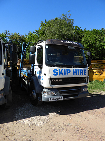 clearing the waste in the romford area