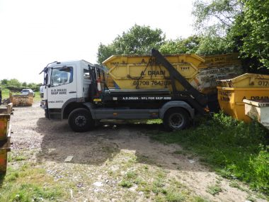 skip hire vehicle for commercial clients